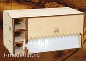 MWP-0010-06 WinModels Module-box for paper towel, roll 220 mm, with three drawers