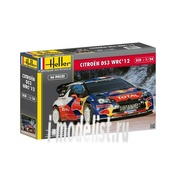 80757 Heller 1/24 Автомобиль CITROEN DS3 WRC'12