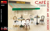 35569 MiniArt 1/35 furniture Set and accessories for cafes