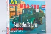 1365AVD AVD Models 1/43 МАЗ-200 бортовой