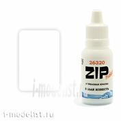 26320 ZIPMaket Краска модельная БЕЛАЯ ИЗВЕСТЬ