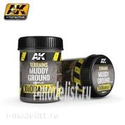 AK8017 AK Interactive Terrains Muddy Ground 250ml (толстый слой грязи)