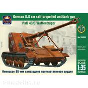 35008 ARK-models 1/35 Немецкое 88-мм самоходное противотанковое орудие PaK 43/3