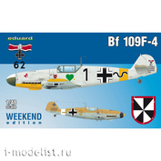 84146 Edward 1/48 Bf 109F-4