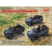 DS3513 ICM 1/35 Light all-terrain vehicles of the Wehrmacht IIMB