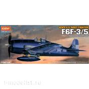 12481 Academy 1/72 Самолёт F6F-3/5 HellCat