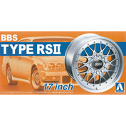 05241 Aoshima 1/24 BBS Type RSII 17 Inch The Tuned Parts No.2
