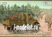 72017 IBG models 1/72 Chevrolet C15A No.11 Cab Personnel Lorry