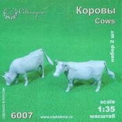 6007 СВмодель 1/35 Фигурки Коровы 2 шт.