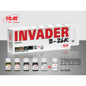 C3007 ICM Acrylic Paint Kit for Invader B-26K and other Vietnam Aviation