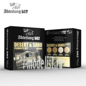 ABT409 Abteilung 502 Набор пигментов DESERT & SAND PIGMENTS SET (Пустыня и песок)