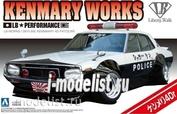 01068 Aoshima 1/24 Car LB Works Ken Mary 4Dr Patrol Car