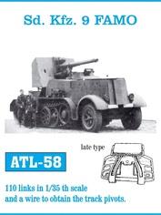 Atl-35-58 Friulmodel 1/35 Atl-58 Sd. Kfz. 9 Famo