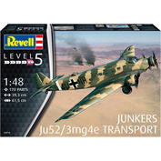 03918 Revell 1/48 Junkers Ju52/3mg4e Transport