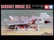61603 Tamiya 1/100 Dassault Mirage Iiic