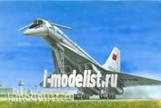 214478 Моделист 1/144 Советский сверхзвуковой пассажирский самолёт Т-у-144 КБ Туполева.СССР. 1968 год.