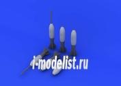 672057 Eduard 1/72 Набор дополнений M117 bombs early
