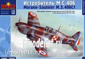 7220 Макет 1/72 Самолет M.S.406