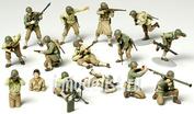 32513 Tamiya 1/48 U.S. Army Infantry Gi Set Американские пехотинцы времен второй мировой.