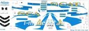 752-009 Ascensio 1/144 Декаль на самолет боенг 757-200 (SCAT)