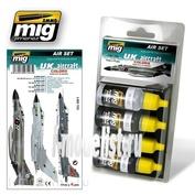 AMIG7203 Ammo Mig Set of four acrylic paints