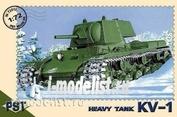 72012 Pst 1/72 KV-1 Tank