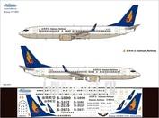 738-007 Ascensio 1/144 Декаль на самолет боенг 737-800 (нanan аirines)