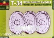 35028 Макет 1/35 Катки раннего выпуска Т-34