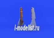 632057 Eduard 1/32 Набор дополнений Fw 190 undercarriage legs BRONZE (бронзовые стойки шасси)