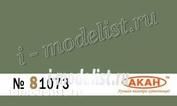 81073 Акан Германия Бледно-зеленая (выцветшая)
