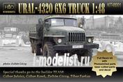 348001 HADmodels 1/48 Автомобиль URAL 4320 6x6 truck (смола)