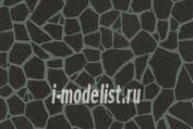 87167 Tamiya Диорам. лист А4 (булыжная мостовая крупная) (Diorama Material Sheet (Stone Paving C))