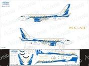 735-012 Ascensio 1/144 Декаль на боенг 737-500 (SCAT)