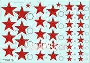 48008 KV Decol 1/48  Российские звезды, тип 1 (два листа)