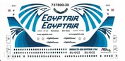 737800-30 PasDecals 1/144 Decal on Boeng 737-800 EGYPTAIR