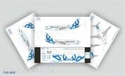 737-013 Ascensio 1/144 Декаль на самолёт Boeng 737-700 SCAT (New Style)