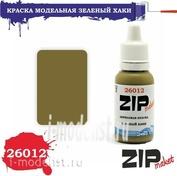 26012 ZIPmaket Краска акриловая Зеленая хаки