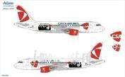 319-009 Ascensio 1/144 Декаль на самолет Arbus A319 (Czeh Arlines New)