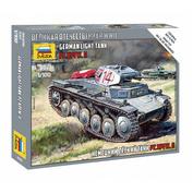 6102 Звезда 1/100 Немецкий легкий танк Pz.Kpfw.II (Для игры