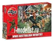 2709 Airfix 1/32 Австралийская пехота (Australian Infantry)