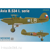 7446 Eduard 1/72 Avia B-534 I. serie