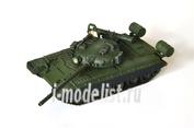 AS72026 Modelcollect 1/72 Советский основной боевой танк Т-80В (Модификации 1980 г.)