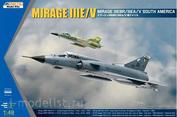 K48052 Kinetic 1/48 Mirage IIIE/V Mirage IIIEBR/IIIEA/V South America