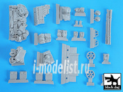 T35019 Black dog 1/35 Bren carrier accesories set for Tamiya