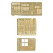 035204 Микродизайн 1/35 Набор фототравления для Т-90 (Базовый набор)