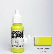 70954 Краска акриловая `Model Color Желто-зеленый/Yellow green