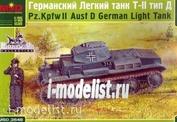 3546 Layout 1/35 German light tank Pz.Kpfw II Ausf D