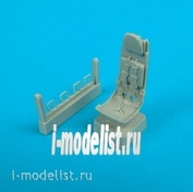 QB48 025 Quickboost 1/48 Ejection seat for He 162 ejection seat with safety belts