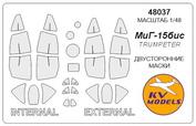 48037 KV Models 1/48 Mask for MIC-15bis (double-sided mask)