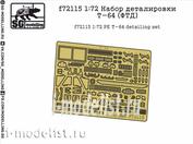 F72115 SG modeling 1/72 t-64 detailing Kit (FTD)
